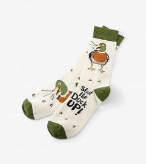 Men's Socks: Shut the Duck Up