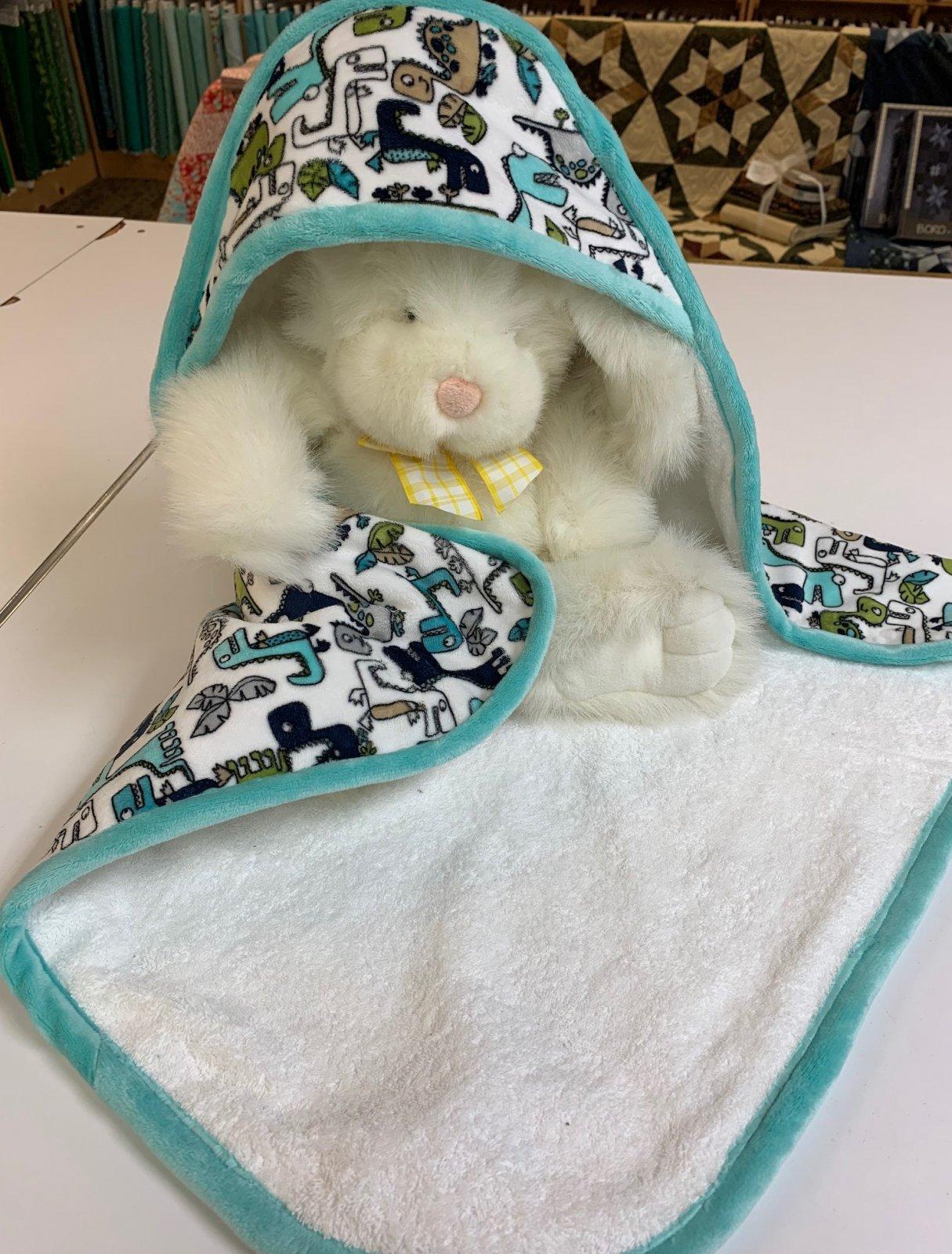 Cuddle Hooded Towel Makes 2!