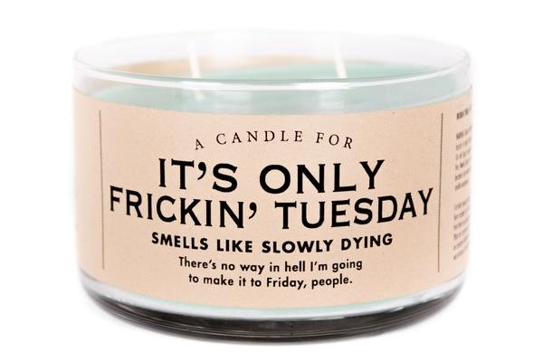 Candle for It's Only Tuesday