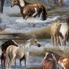 Unbridled Horses Digital Print