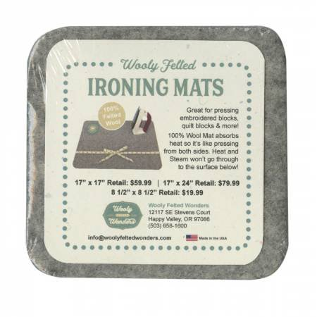 Wooly Felted Ironing Mat 4.5x4.5