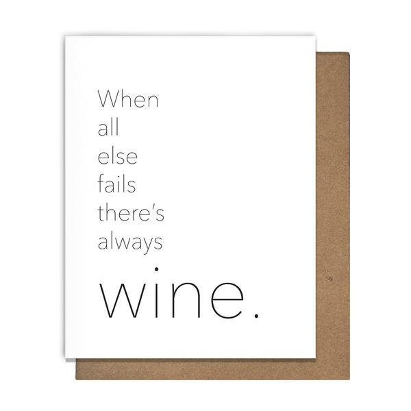 Cards: Always Wine
