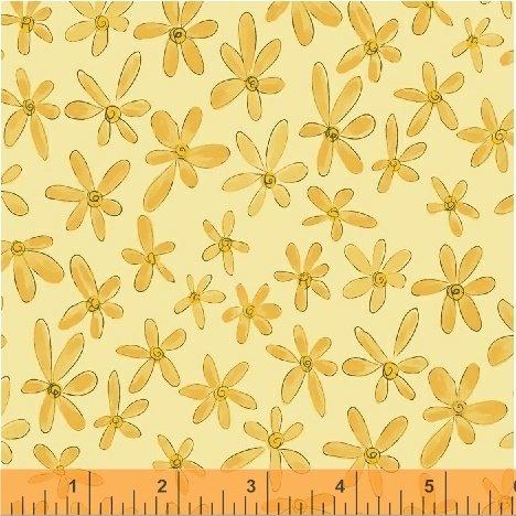Whoo's Hoo Yellow Flower
