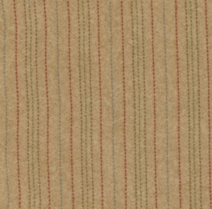 W & N Flannels Tan Stripe