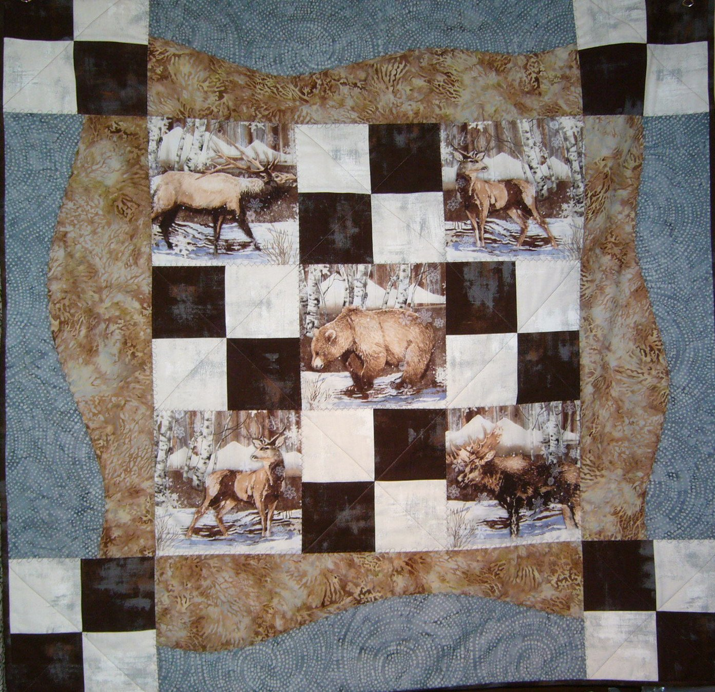 Winter Scene Kit (41x 41) pattern, Town Square, required