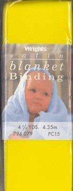 Satin Blanket Binding Yellow
