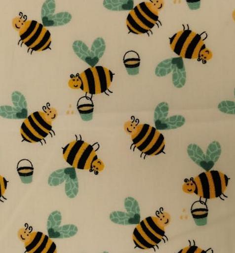 15537-51 Cotton Poplin (21C) Yellow background