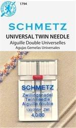 Schmetz Twin Needle 4.0 80/12