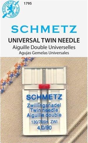 Schmetz Twin Needle Size 4,0  90/14