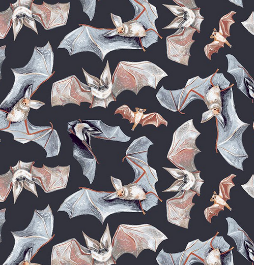 SRR1818 - Bats Toil & Trouble - GRAPHITE (21D)