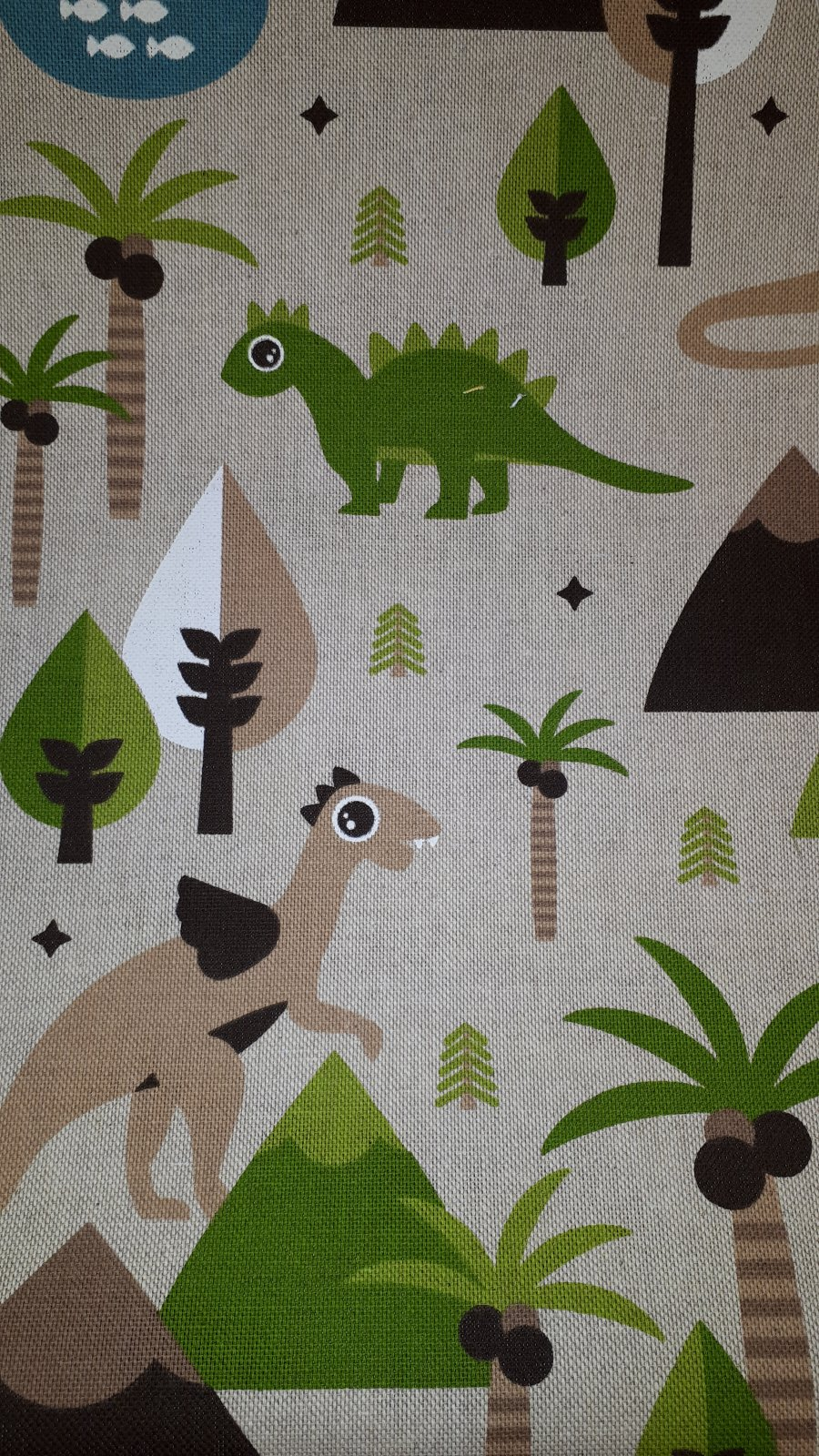 #18  Light Weight Printed Canvas .50 meter