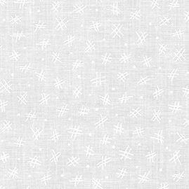 19691-1 Mini Madness Tone on tone White (20C)