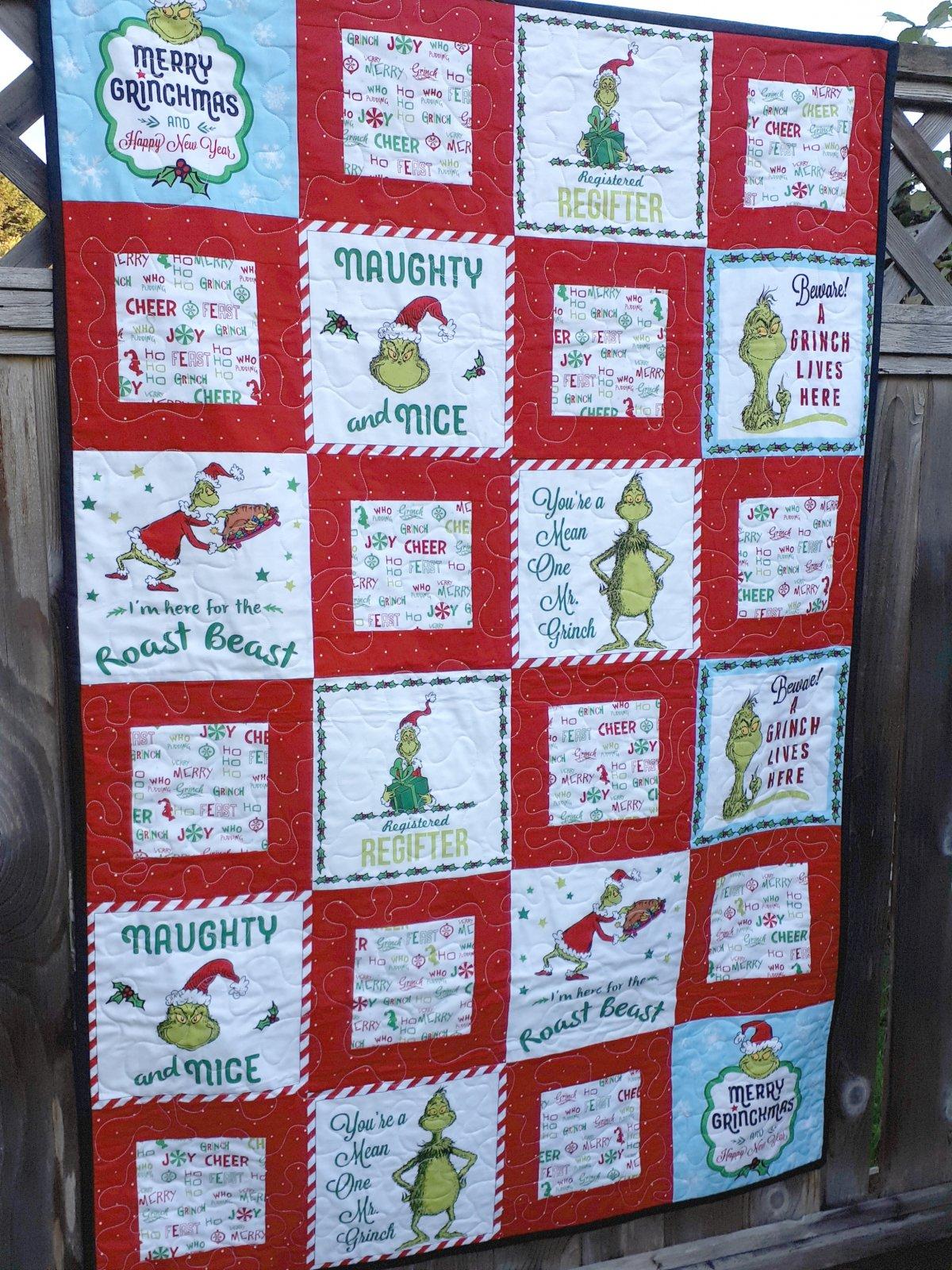 Merry Grinchmas Quilt Pattern