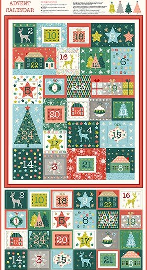 MK2105-1 Merry Advent Calendar