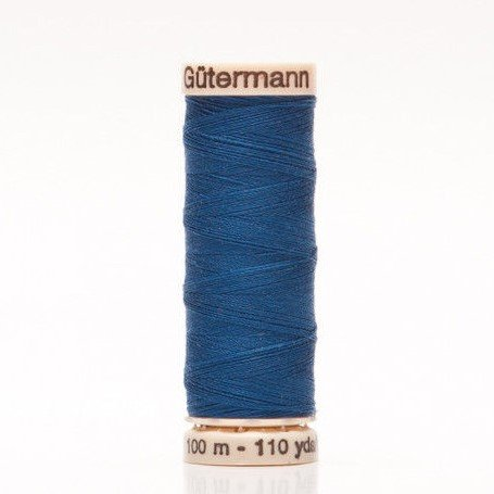 Col 254 - Sew-all Polyester All Purpose Thread 100m/109yds Bright Blue