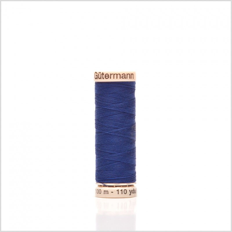 Col 263 - Sew-all Polyester All Purpose Thread 100m/109yds Geneva Blue