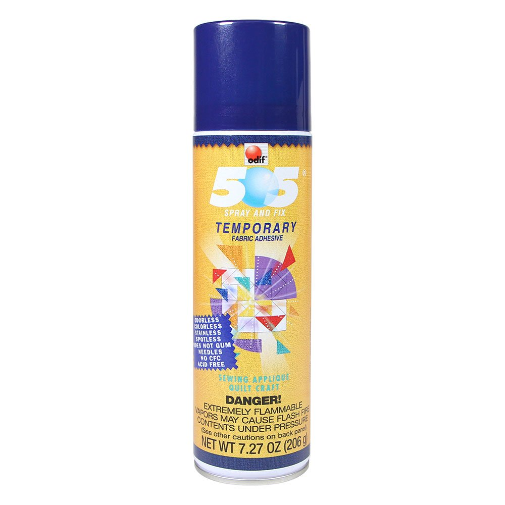 505 Temporary Quilt Basting Adhesive Fabric Spray - 156g
