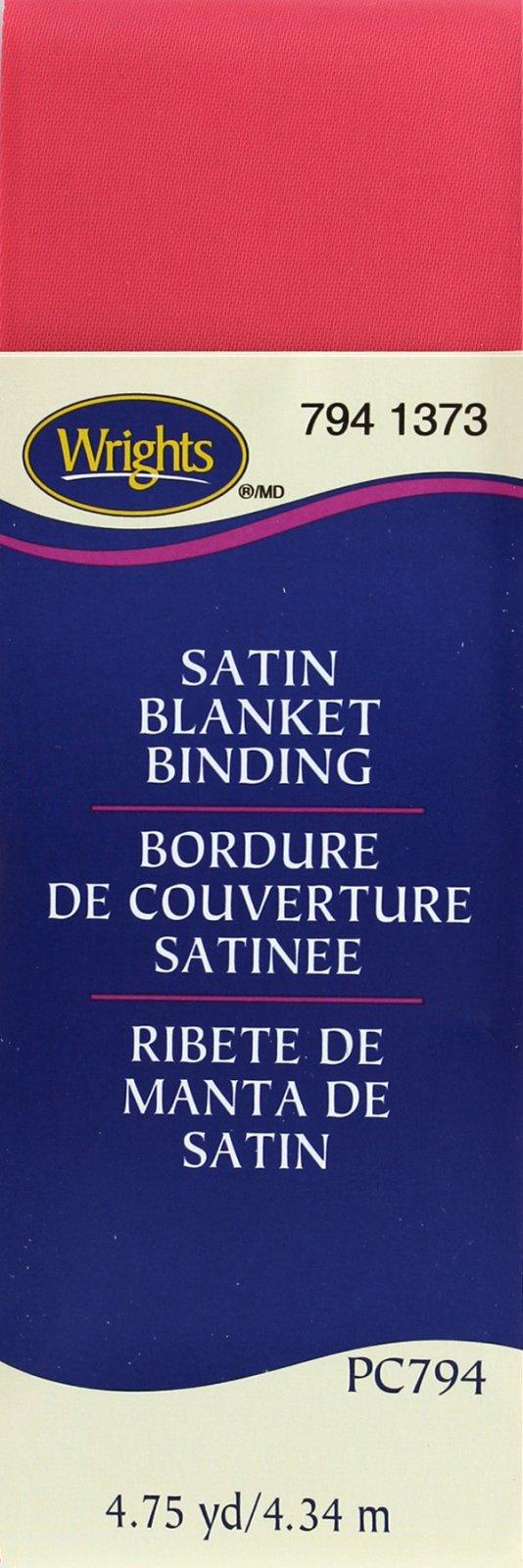 Satin Blanket Binding Paradise Pink