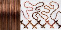733-4011 Sulky 30 Wt. Cotton Blendables thread 500yds/450m Milk Chocolate