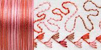733-4029 Sulky 30 Wt. Cotton Blendables thread 500yds/450m Mocha Mauve