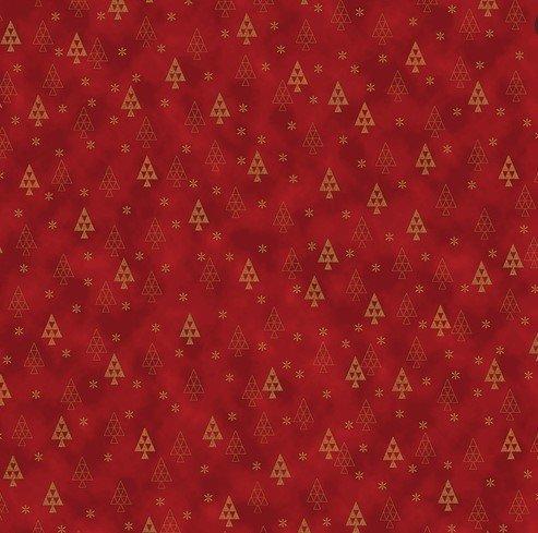 4598-404  Stof- Christmas Is Near Metallic (21H)