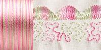 733-4047 Sulky 30 Wt. Cotton Blendables thread 500yds/450m Princess Garden