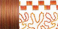733-4066 Sulky 30 Wt. Cotton Blendables thread 500yds/450m  Rusty Sky