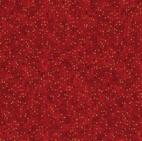 4598-409  Stof- Christmas Is Near Metallic (21H)