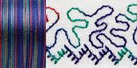733-4109 Sulky 30 Wt. Cotton Blendables thread 500yds/450m Jewel Tones