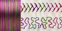 733-4123 Sulky 30 Wt. Cotton Blendables thread 500yds/450m Hot Batik