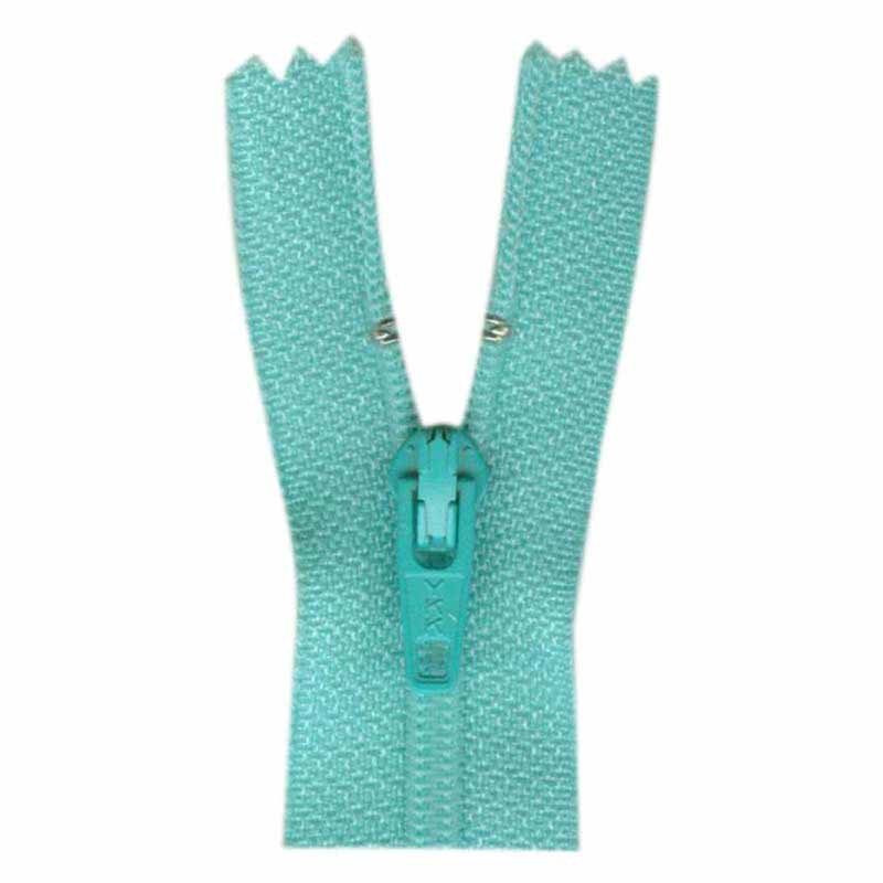 1700 - Closed End Zipper 45cm (18) - #533 Turquoise