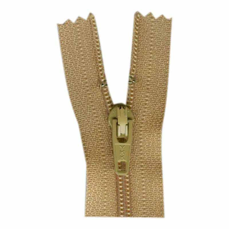 Closed End Zipper 45cm 893 Camel