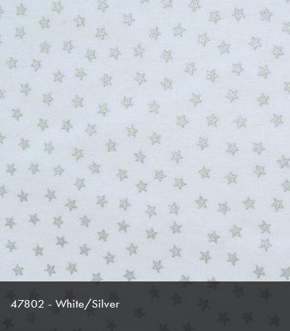 47802 White/Silver Christmas Sparkle