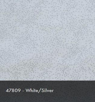 47809 White/Silver Christmas Sparkle
