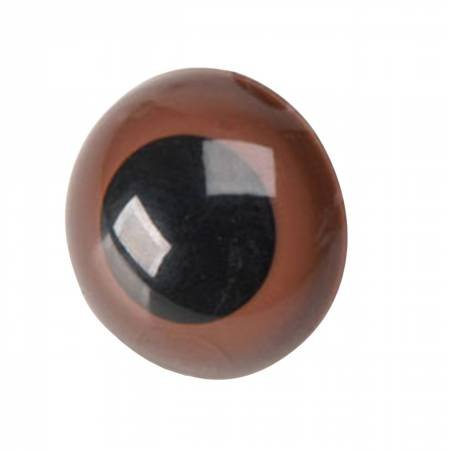 15mm Brown Safety Eyes 4pcs