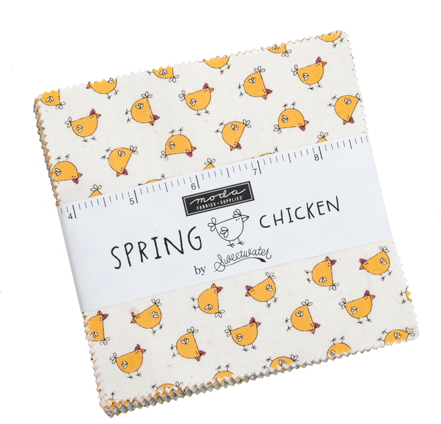 Spring Chicken Charm Pack