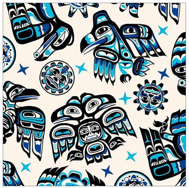 ES550 Native Spirit The Raven - Blue (21C)