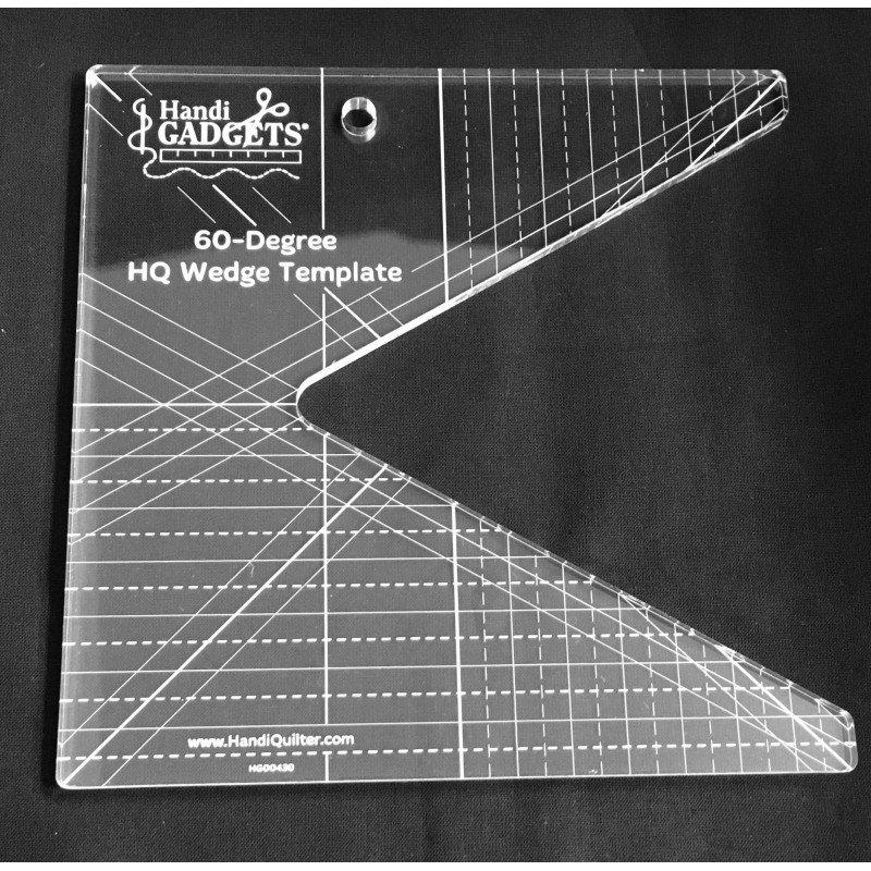 HQ 60 degree Wedge Template