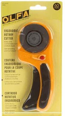 Olfa Deluxe 60mm Ergo cutter