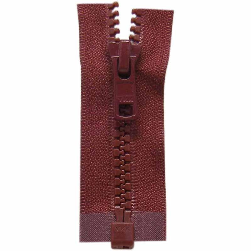Activewear One Way Separating Zipper 65cm (26?) - Bordeaux - 1764