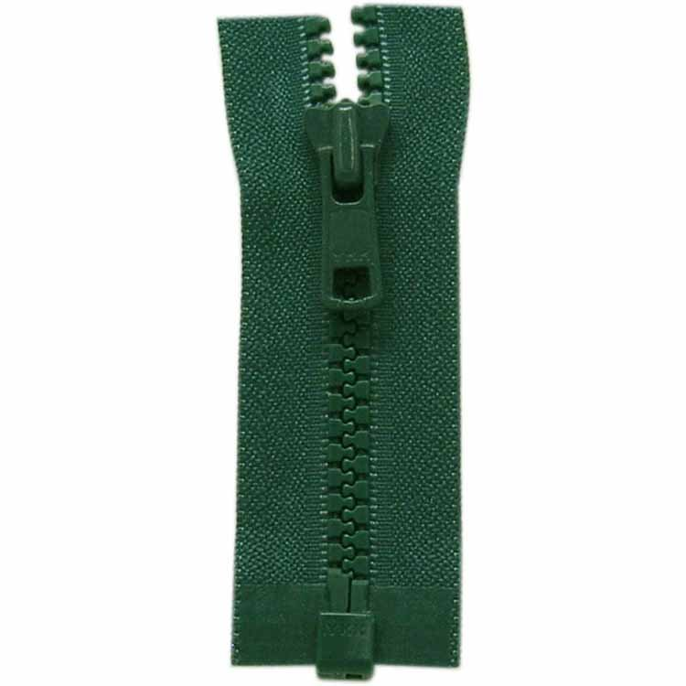Activewear One Way Separating Zipper 65cm (26?) - Dark Green - 1764