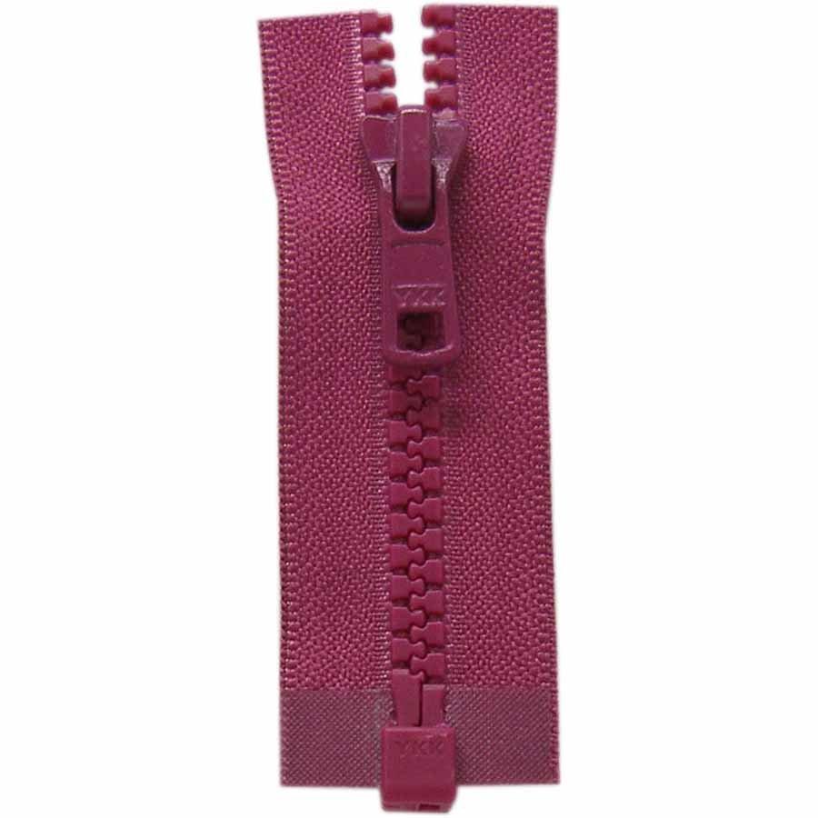 Activewear One Way Separating Zipper 65cm (26?) - Magenta - 1764