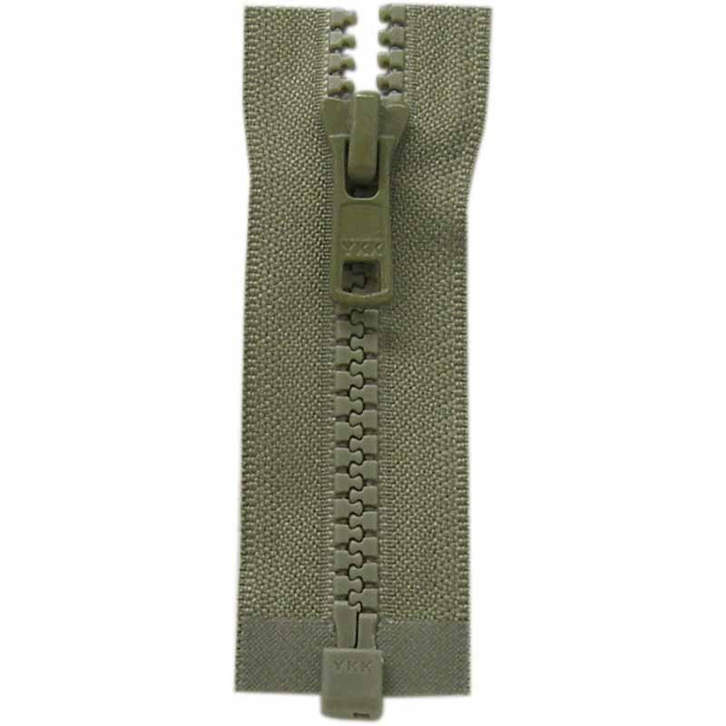 Activewear One Way Separating Zipper 65cm (26?) - Khaki - 1764
