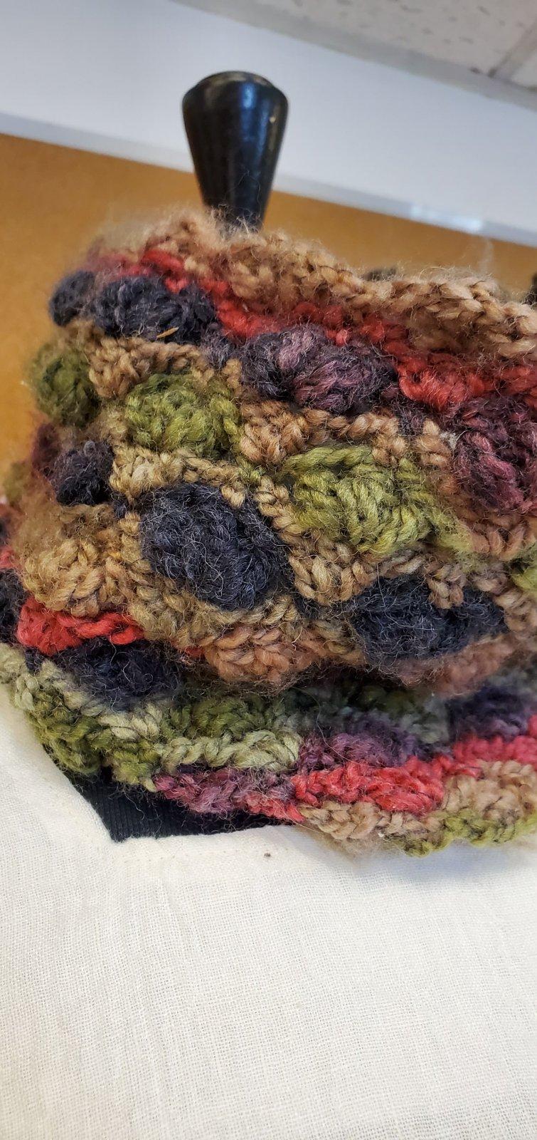 Crochet Cowel - Multi-Coloured