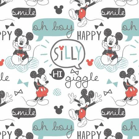 Mickey Mouse - Quilt fabric