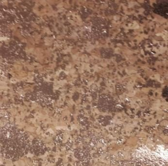 #90-81Cork Fabric 18x15 Natural/Copper