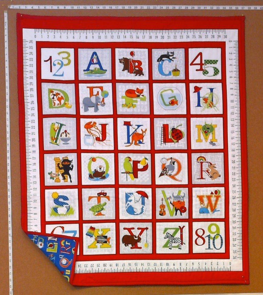Alphabet Crib Quilt