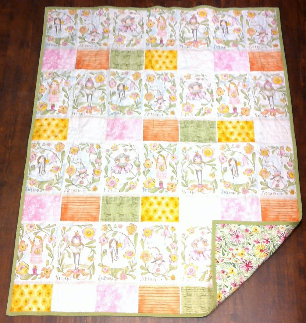 Amazing Girls Child's Lap Quilt