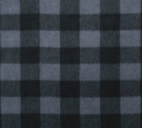 Arctic Check Fleece Grey/Black (20H)