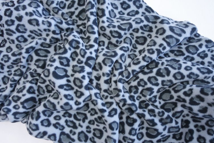 Arctic Fleece Leopard #3